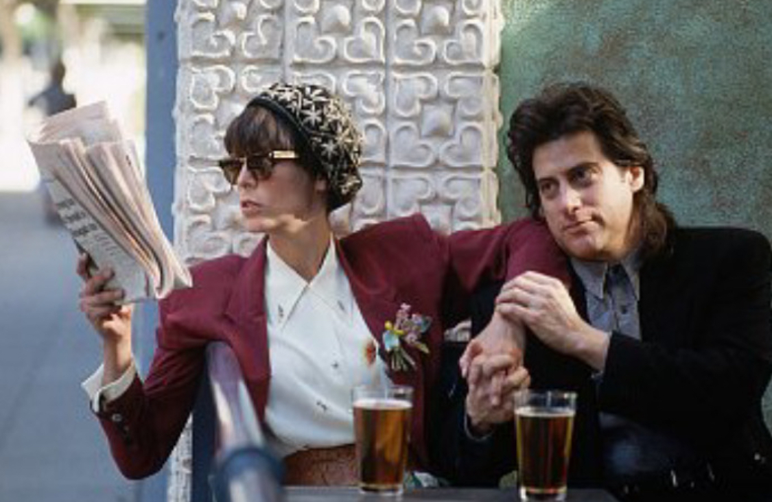 Jamie Lee Curtis and Richard Lewis in Anything But Love (1989)