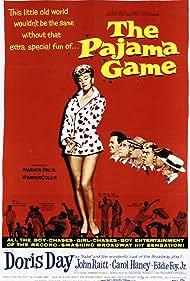 The Pajama Game (1957) Poster - Movie Forum, Cast, Reviews