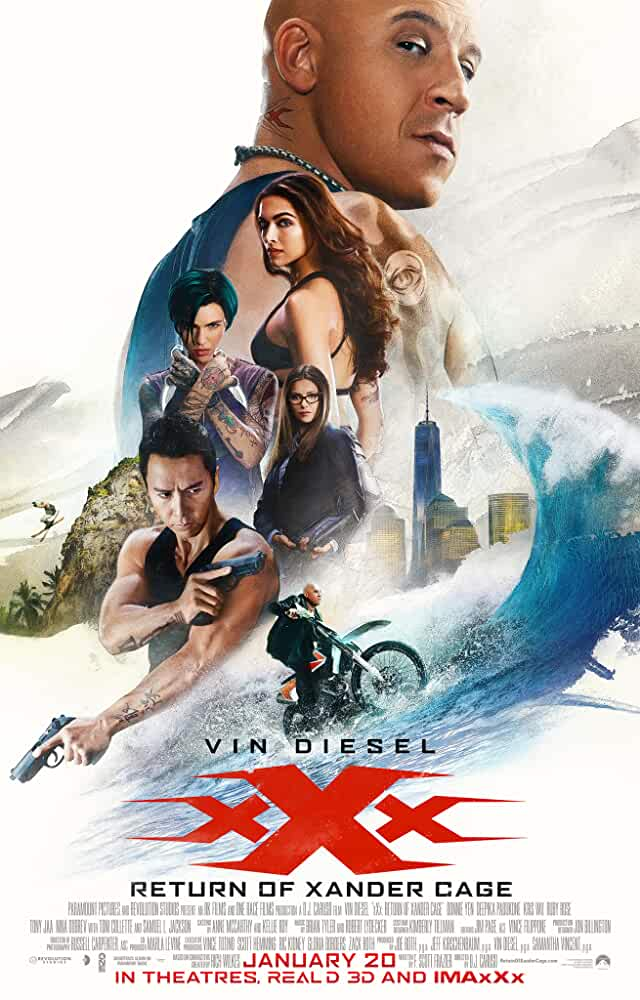 xXx: Return of Xander Cage (2017) Multi Audio [Hindi – Eng – Tam – Tel] x264 AAC Esub