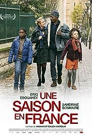 Sandrine Bonnaire, Eriq Ebouaney, Ibrahim Burama Darboe, and Aalayna Lys in Une saison en France (2017)