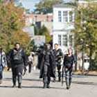 Andrew Lincoln, Melissa McBride, Khary Payton, Daniel Newman, Cooper Andrews, and Chandler Riggs in The Walking Dead (2010)
