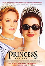 Julie Andrews and Anne Hathaway in The Princess Diaries (2001)