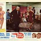 Maurice Chevalier and Jayne Mansfield in Panic Button (1964)