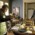 Joshua Jackson and John Noble in Fringe (2008)