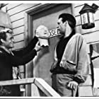 Antony Carbone and Dick Miller in A Bucket of Blood (1959)