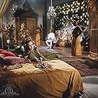 David Niven, Joanna Pettet, and Milton Reid in Casino Royale (1967)