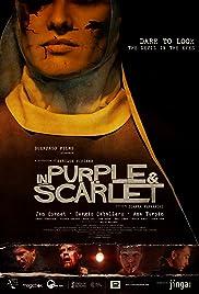 De púrpura y escarlata Poster