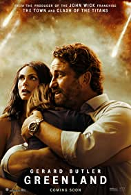 Gerard Butler, Morena Baccarin, and Roger Dale Floyd in Greenland (2020)