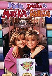 You're Invited to Mary-Kate and Ashley's Mall Party Poster