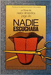 Primary photo for Nadie escuchaba