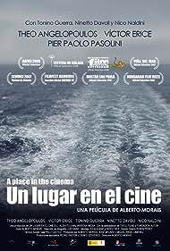 Theodoros Angelopoulos, Ninetto Davoli, Víctor Erice, Tonino Guerra, Julia Juaniz, Nico Naldini, and Alberto Morais in Un lugar en el cine (2008)