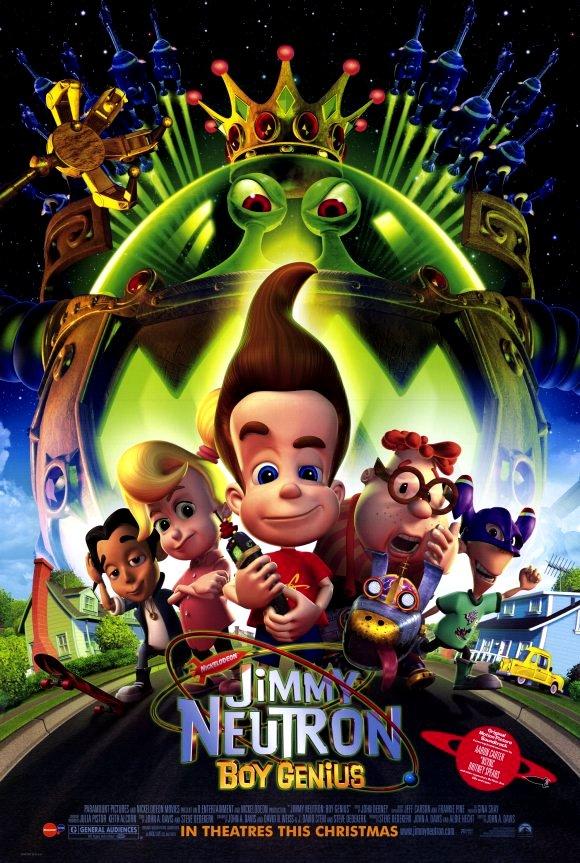 Jimmy Neutron: Boy Genius (2001) WEBRip 480p, 720p & 1080p