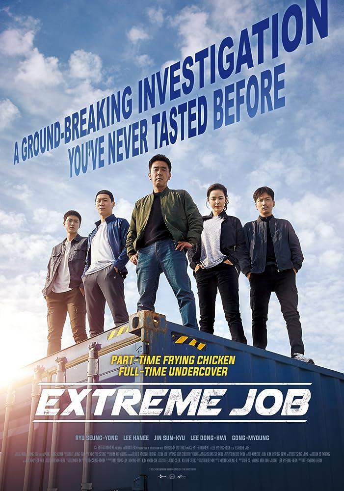 mkv movie 2019 Anime Land Extreme Job 2019 BDRip 720p Hi10P QAAC