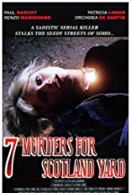 Primary image for Seven Murders for Scotland Yard