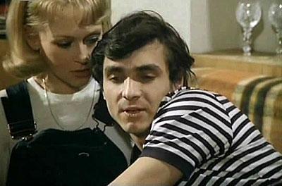 Oldrich Kaiser and Katerina Machácková in Sny o Zambezi (1982)
