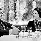 Françoise Fabian and Lino Ventura in La bonne année (1973)