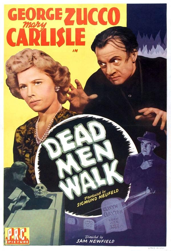 Mary Carlisle, Dwight Frye, and George Zucco in Dead Men Walk (1943)