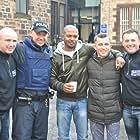 Noel Clarke, Paul Brannigan, and David Friel in Scottish Mussel (2015)