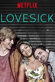 Johnny Flynn, Antonia Thomas, and Daniel Ings in Lovesick (2014)