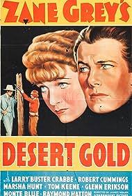 Monte Blue, Buster Crabbe, Marsha Hunt, and Tom Keene in Desert Gold (1936)