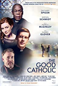 Danny Glover, John C. McGinley, Wrenn Schmidt, and Zachary Spicer in The Good Catholic (2017)