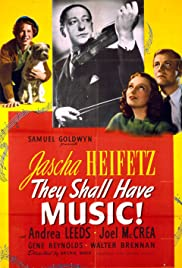They Shall Have Music (1939) starring Jascha Heifetz on DVD on DVD