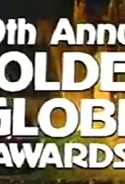 The 39th Annual Golden Globe Awards Poster