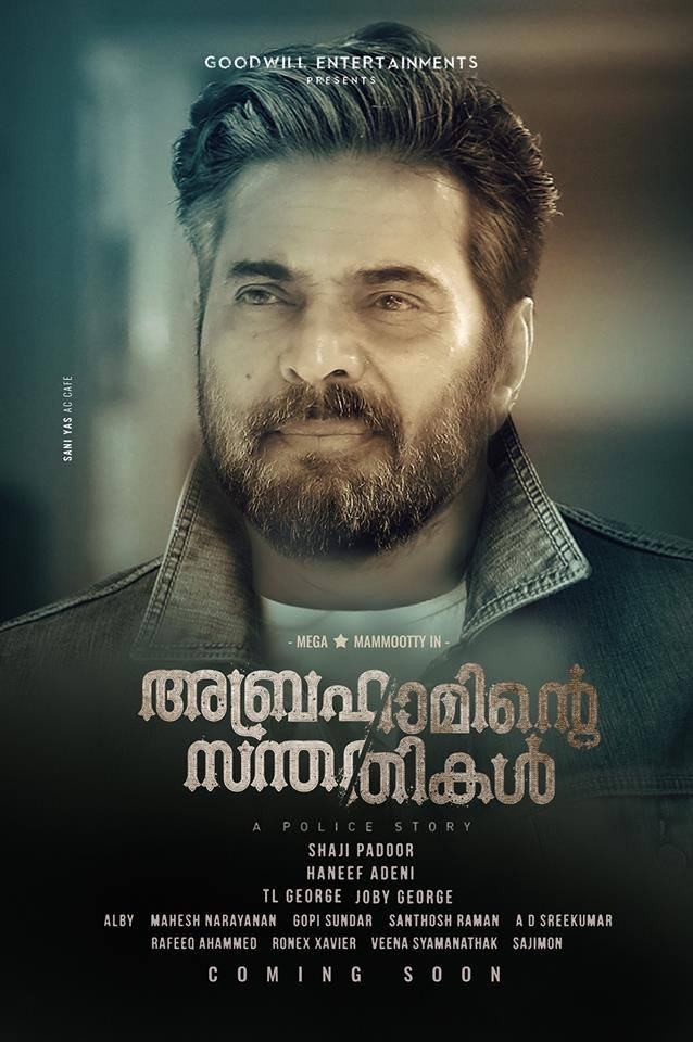 Abrahaminte Santhathikal 2018 Dual Audio Hindi ORG 450MB UNCUT HDRip 480p