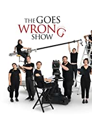 Nancy Zamit, Greg Tannahill, Jonathan Sayer, Chris Leask, Charlie Russell, Henry Shields, Henry Lewis, Bryony Corrigan, and Dave Hearn in The Goes Wrong Show (2019)