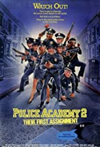 Primary image for Police Academy 2: Their First Assignment