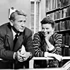 Katharine Hepburn and Spencer Tracy in Desk Set (1957)
