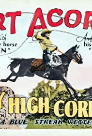 Art Acord and Raven the Horse in Sky High Corral (1926)
