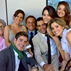 Flávia Alessandra, Marcos Breda, Marcos Pasquim, Hilda Rebello, Marco Pigossi, Fernanda Machado, and Sophie Charlotte in Caras & Bocas (2009)
