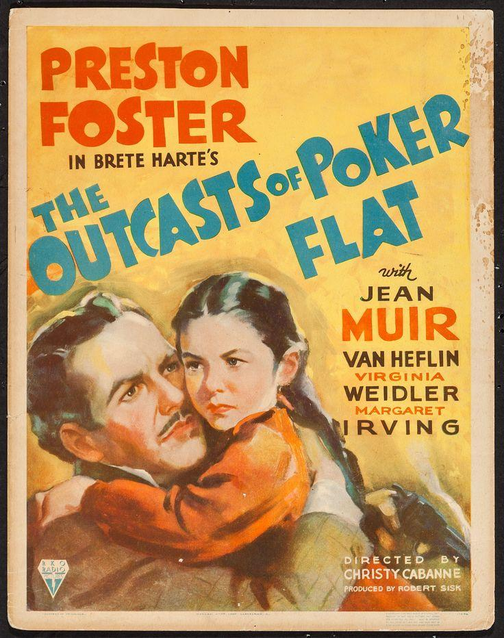 Preston Foster and Virginia Weidler in The Outcasts of Poker Flat (1937)