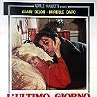 Alain Delon and Mireille Darc in L'homme pressé (1977)