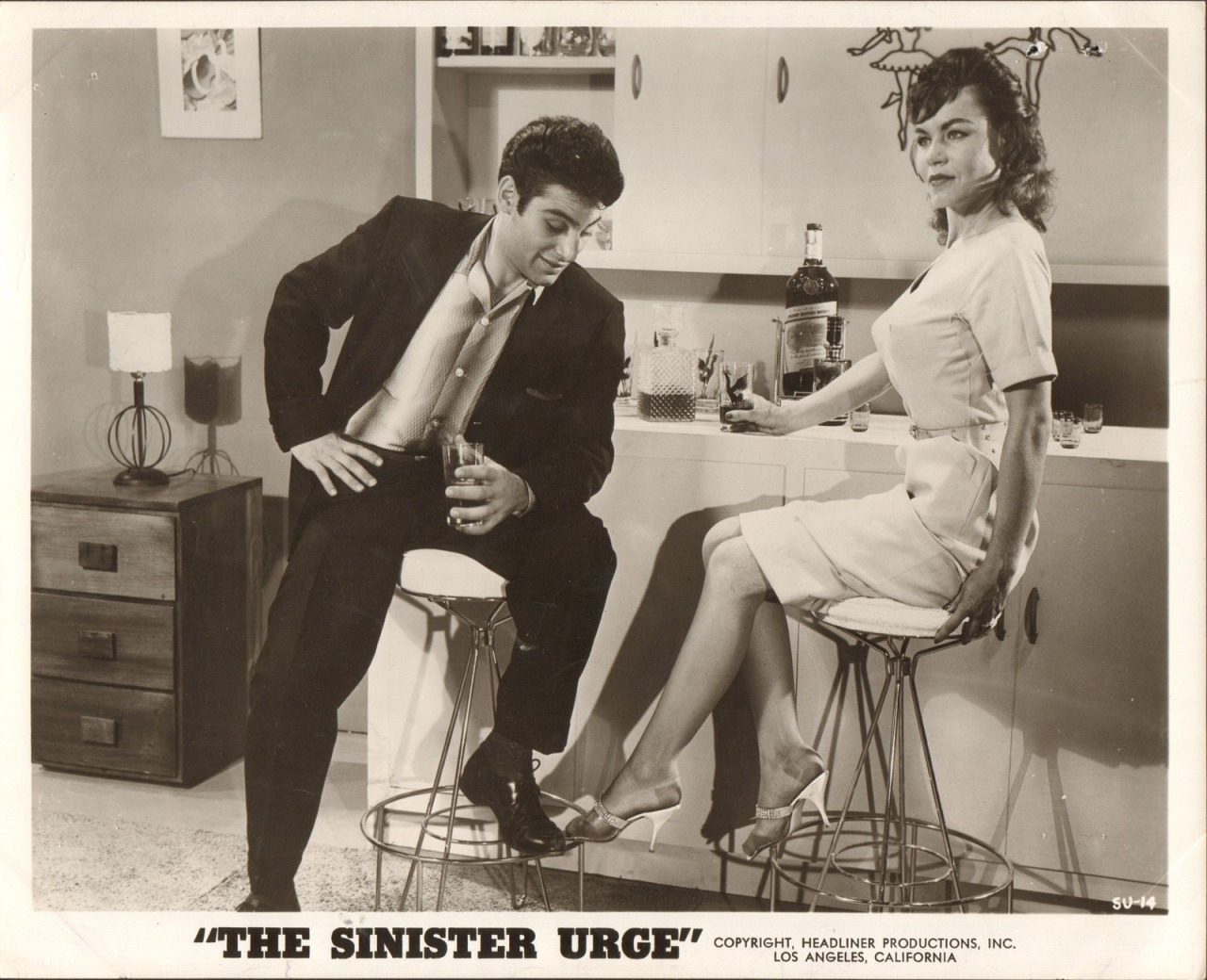 Dino Fantini in The Sinister Urge (1960)