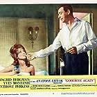 Jocelyn Lane and Yves Montand in Goodbye Again (1961)