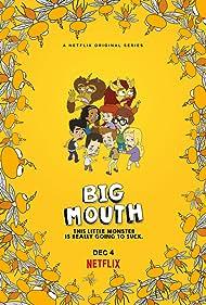 Maria Bamford, Andrew Rannells, Maya Rudolph, Jessi Klein, Jason Mantzoukas, Nick Kroll, John Mulaney, and Jenny Slate in Big Mouth (2017)