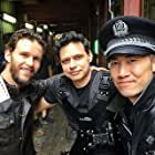 Ryan Kwanten, Ivan Sen, and Michael Chan in Loveland (2021)