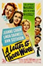 A Letter to Three Wives (1949) Poster