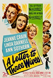 A Letter to Three Wives Poster