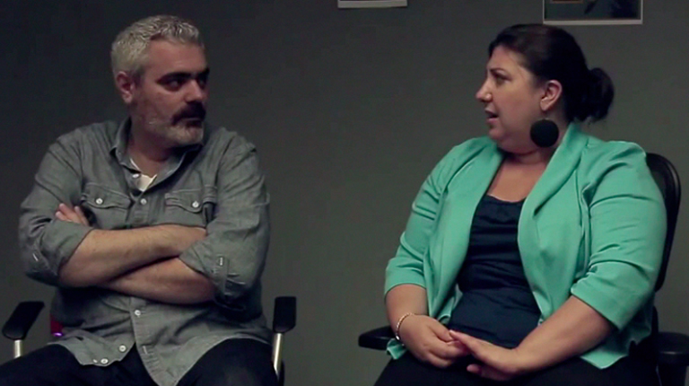 """Still from """"The Actress"""" with Ashlie Atkinson"""
