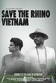 Save the Rhino Vietnam Poster