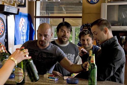 Rene Bitorajac, Franjo Dijak, Rakan Rushaidat, and Robert Ugrina in Metastaze (2009)