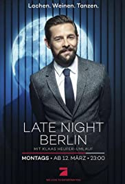 Late Night Berlin Poster