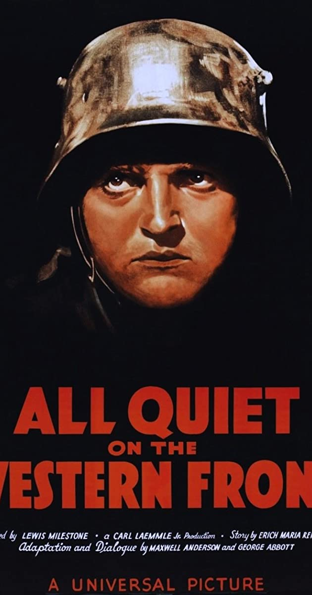 Subtitle of All Quiet on the Western Front
