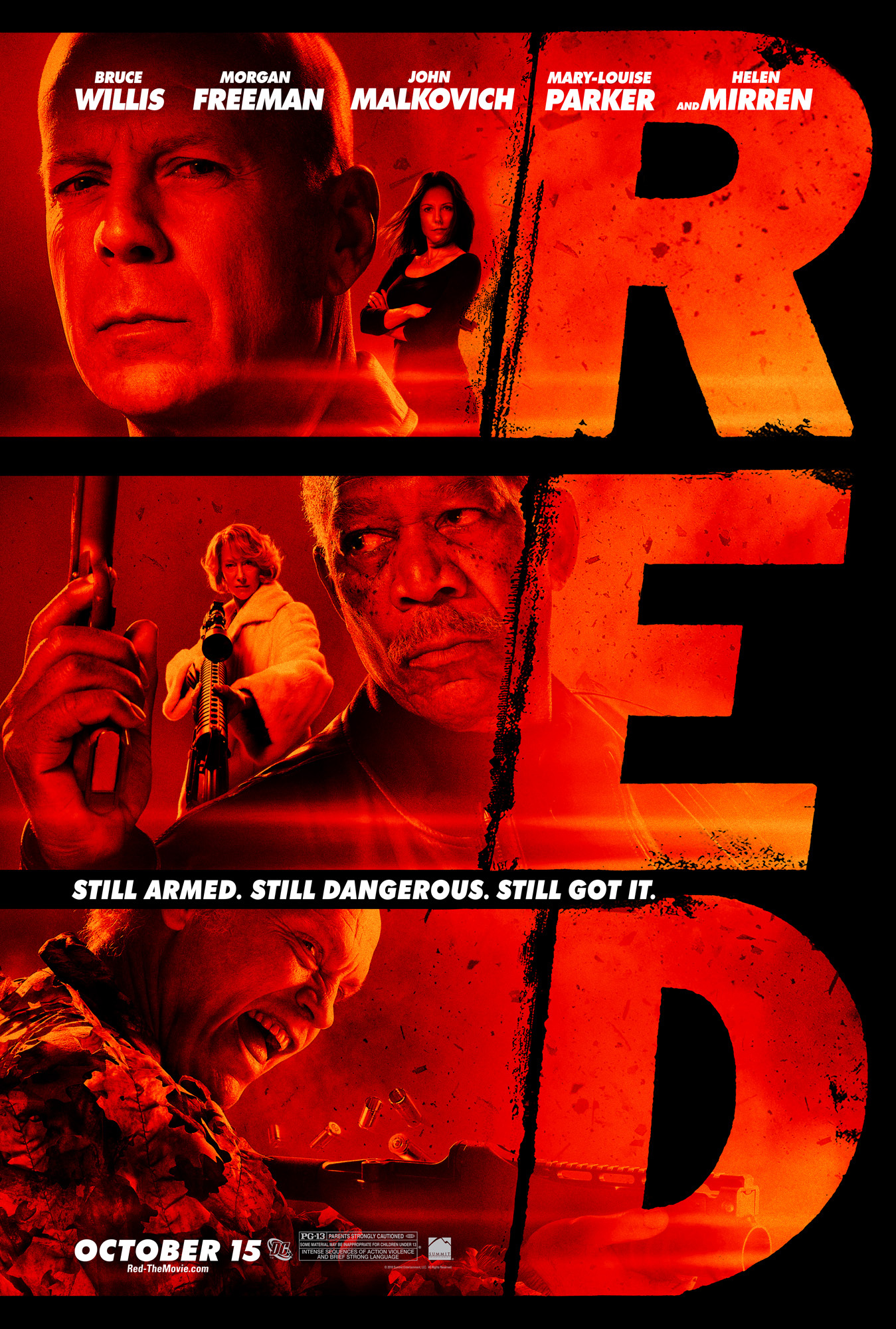 Red Ray: a selection of sites