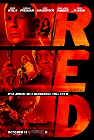 Morgan Freeman, Bruce Willis, John Malkovich, Helen Mirren, and Mary-Louise Parker in RED (2010)