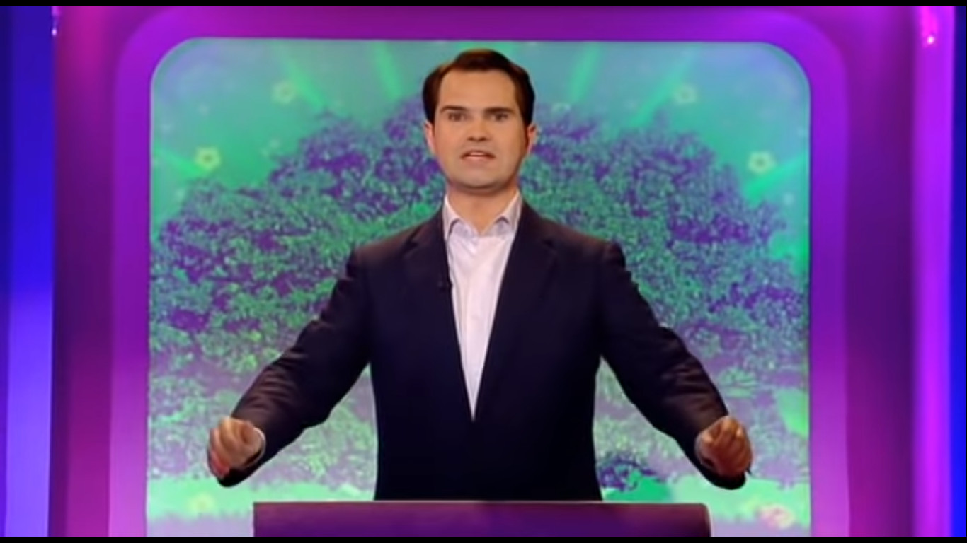 Jimmy Carr in The Big Fat Quiz of the Year (2007)