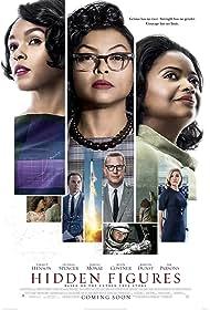 Kevin Costner, Kirsten Dunst, Taraji P. Henson, Octavia Spencer, Jim Parsons, and Janelle Monáe in Hidden Figures (2016)